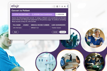 Elixir's CRM capabilities significantly enhanced the Patient Intake Process